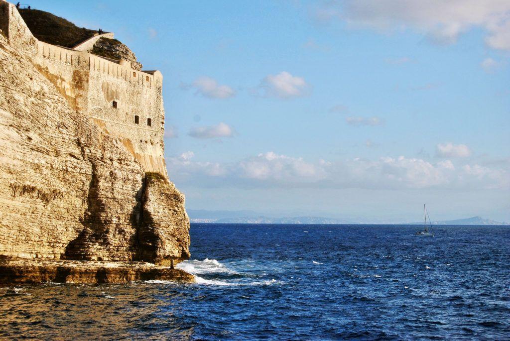 Corse-falaise-Bonifacio