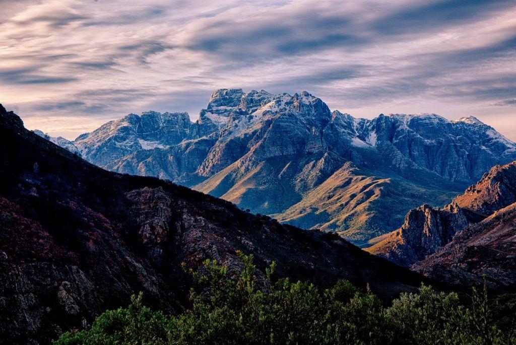 Montagnes Afrique du Sud