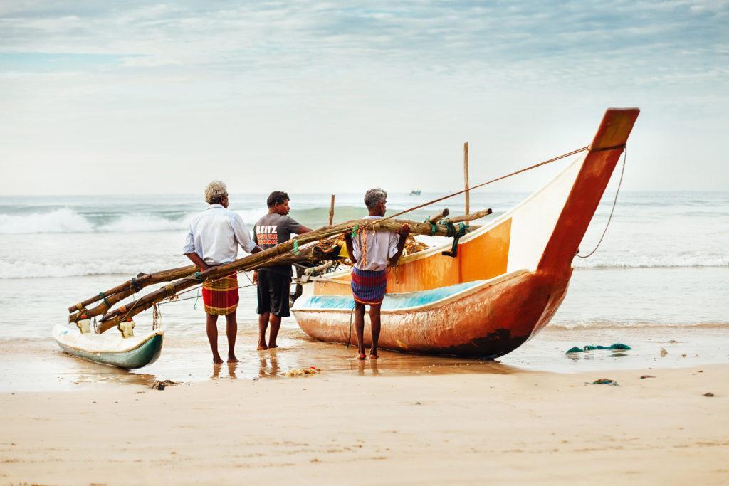 Sri Lanka bateaux pêche